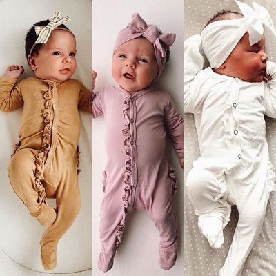 Newborn Baby Floral Outfits - 27orLess