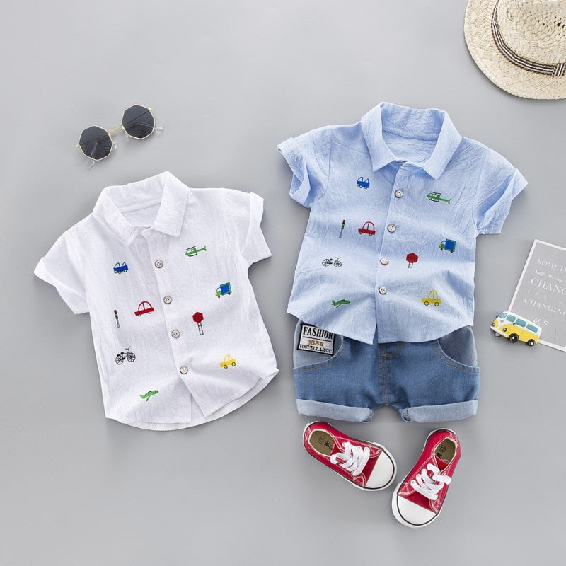 Toddler Boy Clothing Set - 27orLess