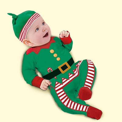 Christmas Baby Long Sleeve Clothes - 27orLess