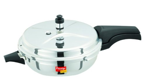 Prestige Deluxe Stainless Steel Senior Pressure Pan, 4 Liters