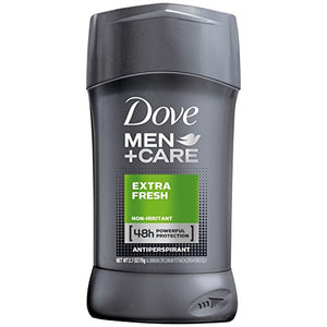 Dove Men+Care Antiperspirant Deodorant Stick, Extra Fresh 2.7 oz