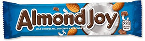 Almond Joy Candy Bar - 1.61oz - 4 pack- Past Rotation Date - Guaranteed Freshness