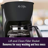 Mr. Coffee Simple Brew Coffee Maker|4 Cup Coffee Machine|Drip Coffee Maker, Black