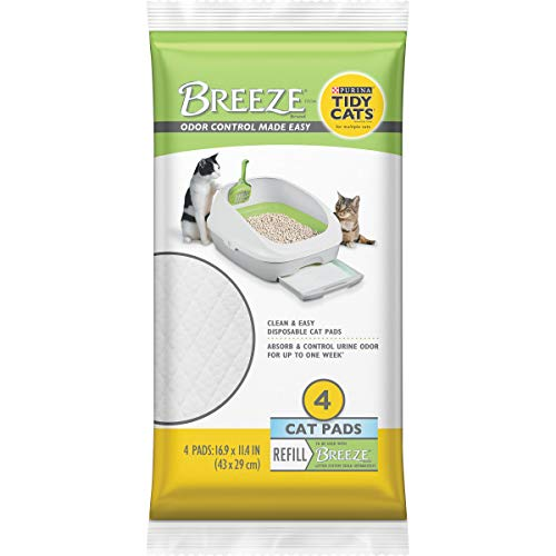 Purina Tidy Cats Cat Pads, BREEZE Refill Pack - (10) 4 ct. Pouches