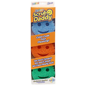 Scrub Daddy Colors, 3 Count (Pack of 1)
