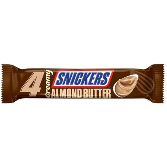 Snickers Creamy Almond Butter Candy Bar - 2.8oz - 5 pack - Past Rotation Date - Guaranteed Freshness