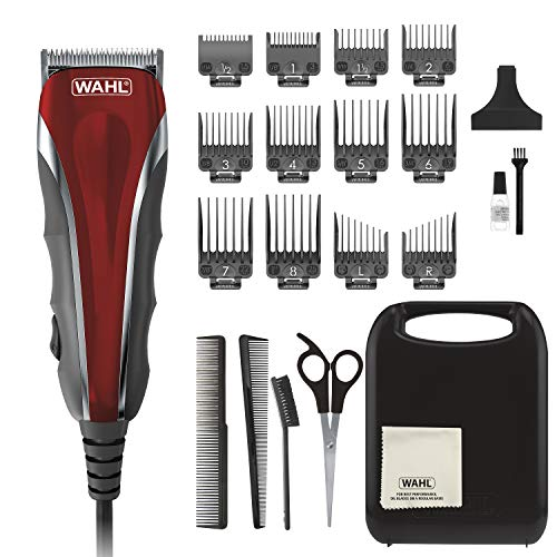 Wahl Model 79607 Clipper Compact Multi-Purpose Haircut, Beard & Body Grooming Hair Clipper & Trimmer with Extreme Power & Easy Clean Blades