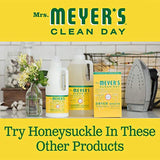 Mrs. Meyer's Clean Day Dryer Sheets, Softens Fabric, Reduces Static, Cruelty Free Formula, Honeysuckle Scent, 80 Count