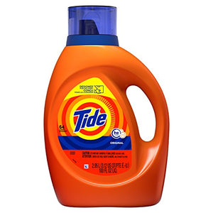 Tide Liquid Laundry Detergent, Original, 64 loads, 100 fl oz