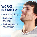 Clear Passage Nasal Strips, Clear Extra Strength, 50 Count | Works Instantly to Improve Sleep, Reduce Snoring, Relieve Nasal Congestion Due to Colds & Allergies (Clear)