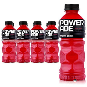 POWERADE, Electrolyte Enhanced Sports Drinks w/ Vitamins, Fruit Punch, 20 fl oz, 8 Pack