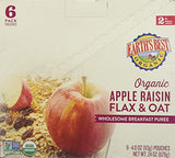 Earth's Best Apple Raisin Wholesome Breakfast, 4 oz, (Pack of 6) - Exp 10/20