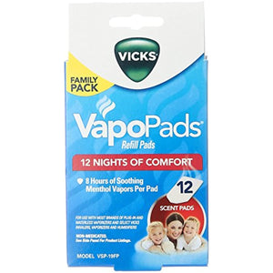Vicks VapoPads Refill - Soothing Menthol - 12ct