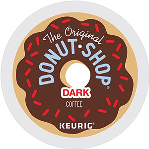 The Original Donut Shop Dark Roast Coffee, K-Cup, 12 ct - Like New