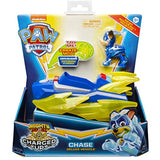 PAW Patrol Mighty Pups Charged Up Deluxe Vehicle - Chase