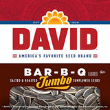 DAVID BBQ Sunflower Seeds - 2 pack  - Past  Rotation Date - Guaranteed Freshness