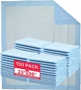 A WORLD OF DEALS INC2336R Disposable Blue Underpad 23 X 36, 150/Case