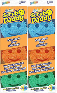 Scrub Daddy Colors, 3 Count (Pack of 2)