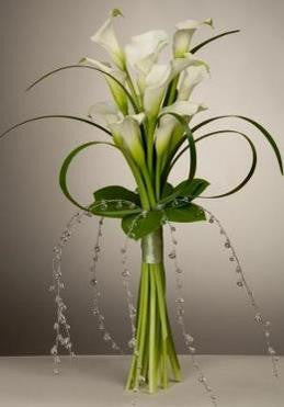 Bridal Bouquet-Calla Lily