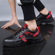 Load image into Gallery viewer, Men's Casual Colorblock Letter Print Sneakers