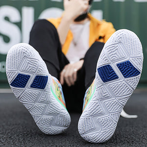 Non-slip Breathable Printed Fashion Men's Sneakers