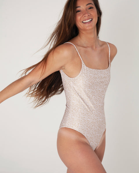 Bells One Piece - Daisy - TWO SPARROW AUSTRALIA - Ethical Organic Natural Materials Sustainable Australia - One piece - Daisy / M
