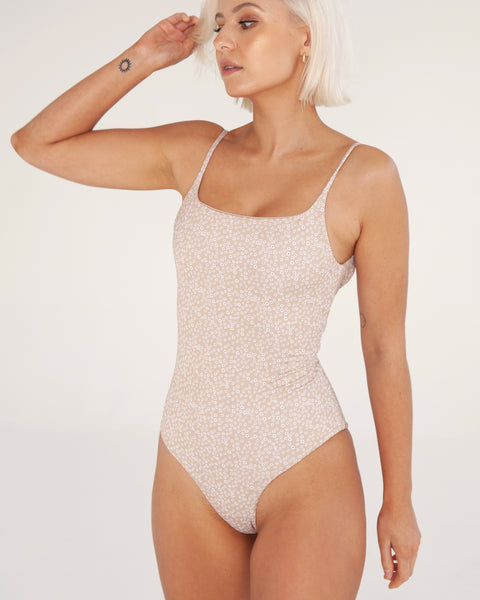 Bells One Piece - Daisy - TWO SPARROW AUSTRALIA - Ethical Organic Natural Materials Sustainable Australia - One piece -