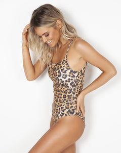 Bells One Piece - Leopard