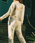 Cosy Trackies - Organic Cotton - Tan Tie-Dye