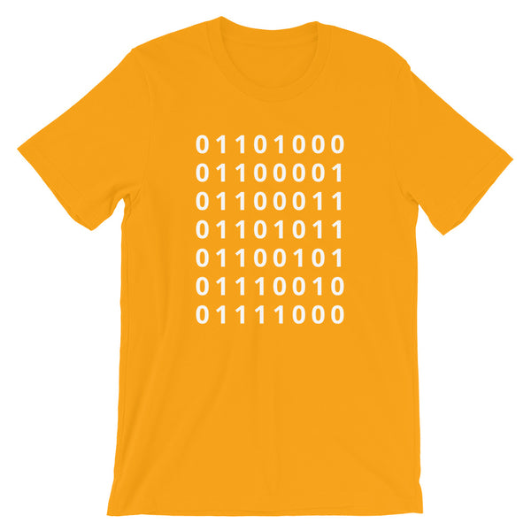 Binary HackerX Shirt