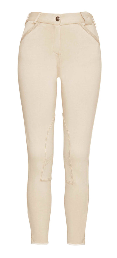 Pantalon Equitacion Mountain Horse Allison Breeches FS Beige Claro