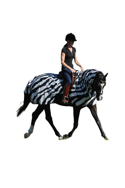 Manta Antimoscas Caballo Bucas. Buzz Off Riding Rug Zebra
