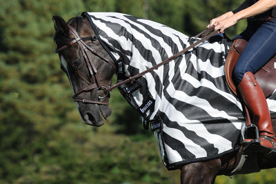Manta Antimoscas Caballo Bucas. Buzz Off Riding Rug Zebra 2