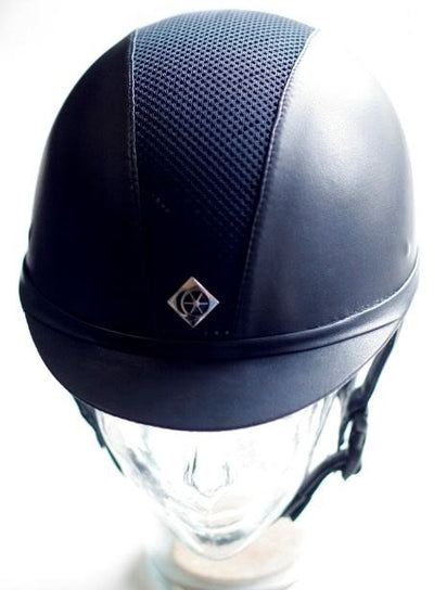 Charles Owen AYR8 Leather Helmet