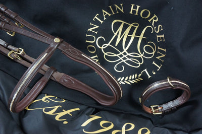 Mountain Horse Meteor Dog Collar Havana