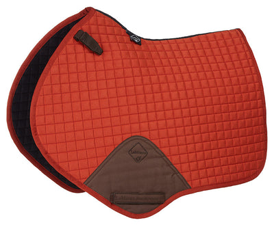 Sudadero Caballo LeMieux Lustre Close Contact Squares Naranja