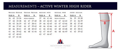 Mountain Horse Active Winter High Rider
