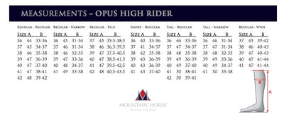 Mountain Horse Opus High Rider