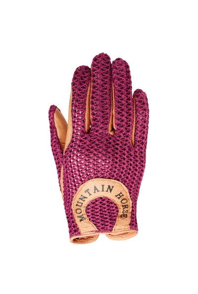 Mountain Horse Crochet Glove II JR Rosa