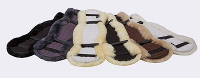 LeMieux Lambskin Dressage Girth Covers