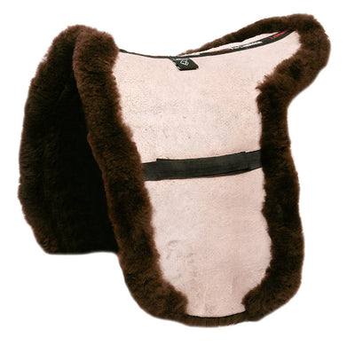 LeMieux Lambskin Showing Numnah Marrón