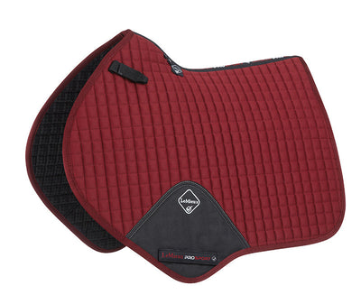 Sudadero Caballo LeMieux Plain Cotton Close Contact Squares Burdeos