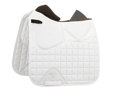 LeMieux Plain Cotton Pro-Sorb Dressage Square Blanco
