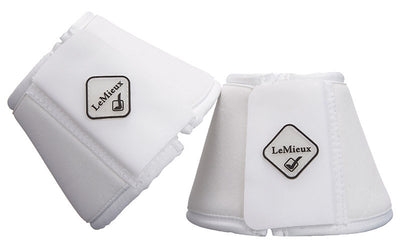 LeMieux Soft Shell Over Reach Boots Blanco
