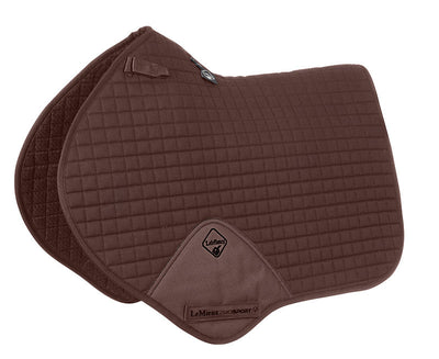 Sudadero Caballo LeMieux Plain Cotton Close Contact Squares Marrón