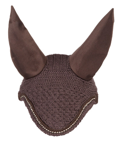 LeMieux Diamante Fly Hoods Marrón/Cordón Marrón