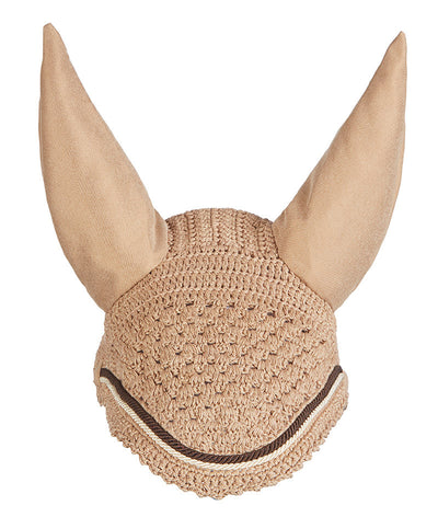 LeMieux Vogue Fly Hoods Beige/Cordón Marrón
