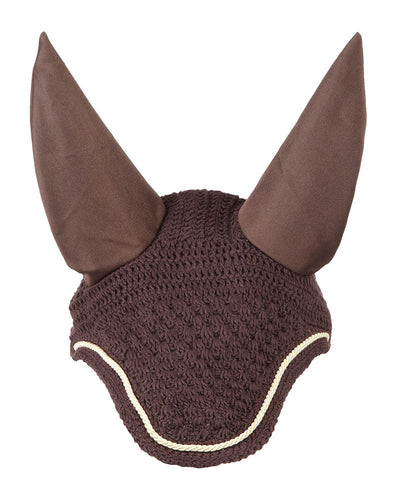 LeMieux Vogue Fly Hoods Marrón/Cordón Beige