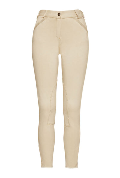 Pantalon Equitacion Mountain Horse Allison Breeches TK Beige Claro