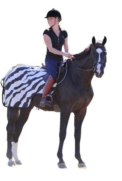 Manta Caballo Bucas Riding Rug Zebra